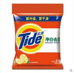 汰渍无磷洗衣粉柠檬清香净白洗衣粉260G 20袋/件货号888.LS