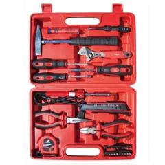 WG巨联家用工具套装 多功能五金工具箱 电工木工维修手动工具组套 24