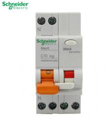 WG 施耐德 开关漏电断路保护器 EA9 相线+中性线 1P+N C45(16A-40A) 16A
