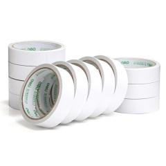 WG现货 三日达 得力30403棉纸双面胶带24mm*10y*80um(白)(12卷/筒)