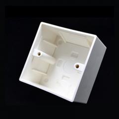 明装接线盒 86明盒 塑料单盒货号888.LS