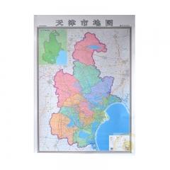 WG天津市地图挂图