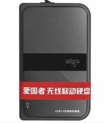 ★现货隔日达★爱国者 HD816  1TB/USB3.0/黑色 无线移动硬盘(货号170.S)