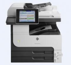 惠普HP  MFP M725DN 数码多功能一体机 原厂自带一年上门 含安装 货号100.S884