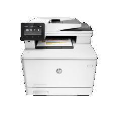 HP MFP M477fdw 激光彩色A4多功能一体机 原厂自带一年上门 含安装 货号100.S915