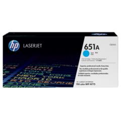 惠普HP LASERJET CE340A/651A 青色原装硒鼓 货号100.S1126