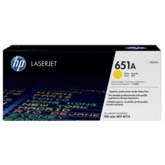 惠普HP LASERJET CE340A/651A 黄色原装硒鼓 货号100.S1123