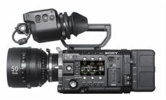 索尼(Sony)PMW-F55 CinAlta 35mm 4K数字电影摄影机 (单机身)  ZX.144