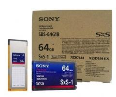 索尼专业摄像机存储卡  SBS64G (二个装) 货号230.F033