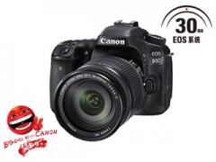 佳能EOS 80D EF-S 18-135mm f/3.5-5.6 IS 送32G卡+包货号888.LS156