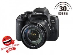 佳能单反相机 EOS 750D(18-55)套机   货号100.Ai100