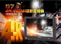 现货隔日达  BSY百视悦S7Ⅱ摄影机监视器 S7 2代监视器支持4K信号HDMI SDI接口  货号230.F306