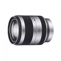 索尼(SONY) E 18-200mm F3.5-6.3 OSS (银色) APS-C画幅微单镜头 货号230.F416