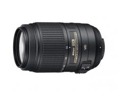 尼康(Nikon) AF-S DX 55-300mm f/4.5-5.6G ED VR 防抖镜头  货号230.F454